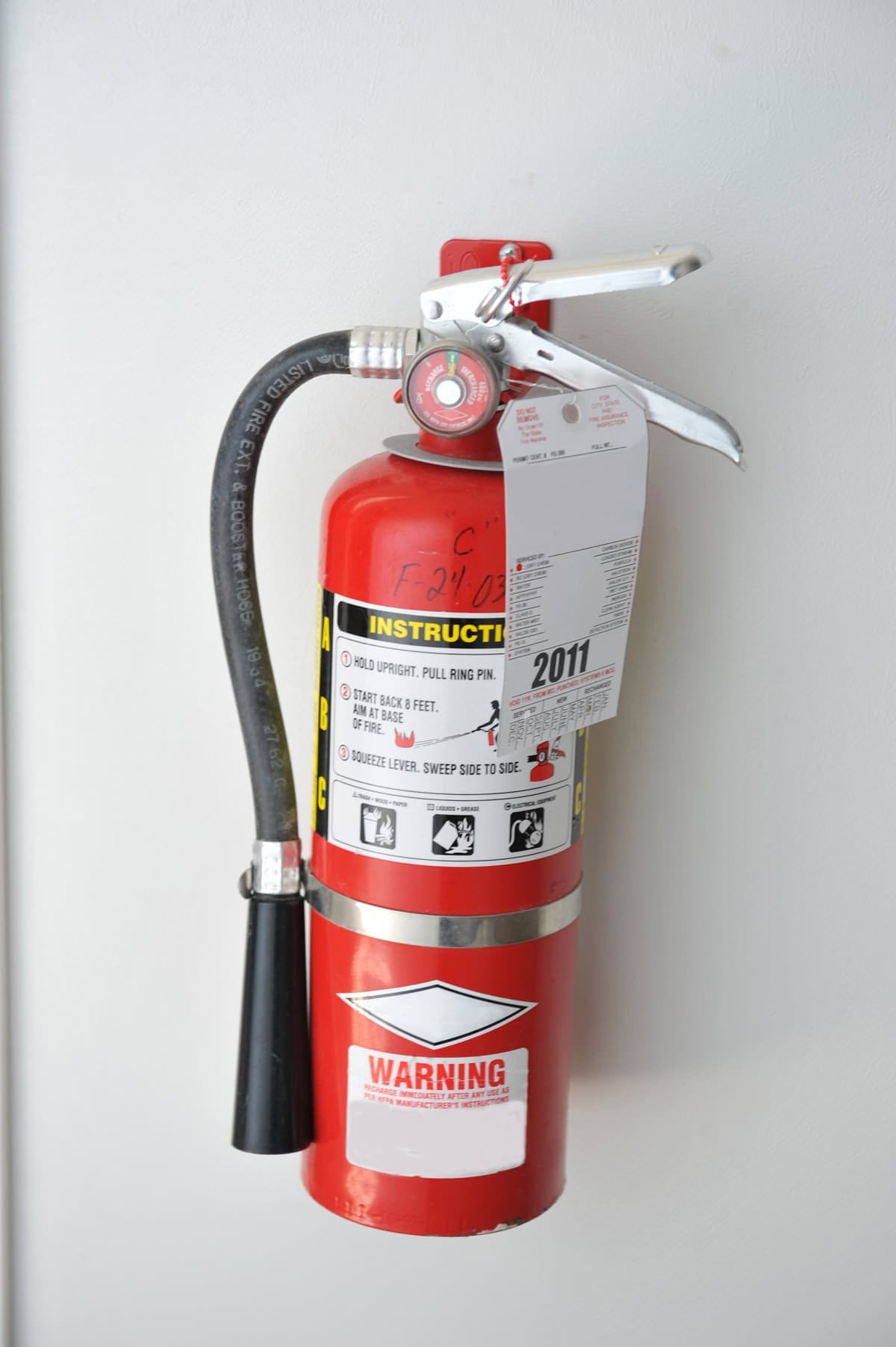 Fire extinguishers photo gallery
