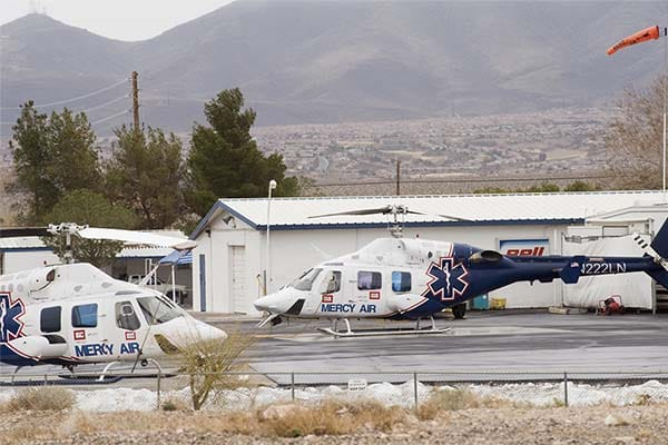 air medical transport helicopters
