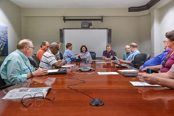 FEMA logistics planning group meeting