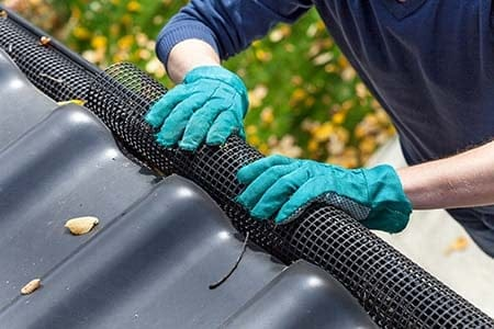 installing gutter guards