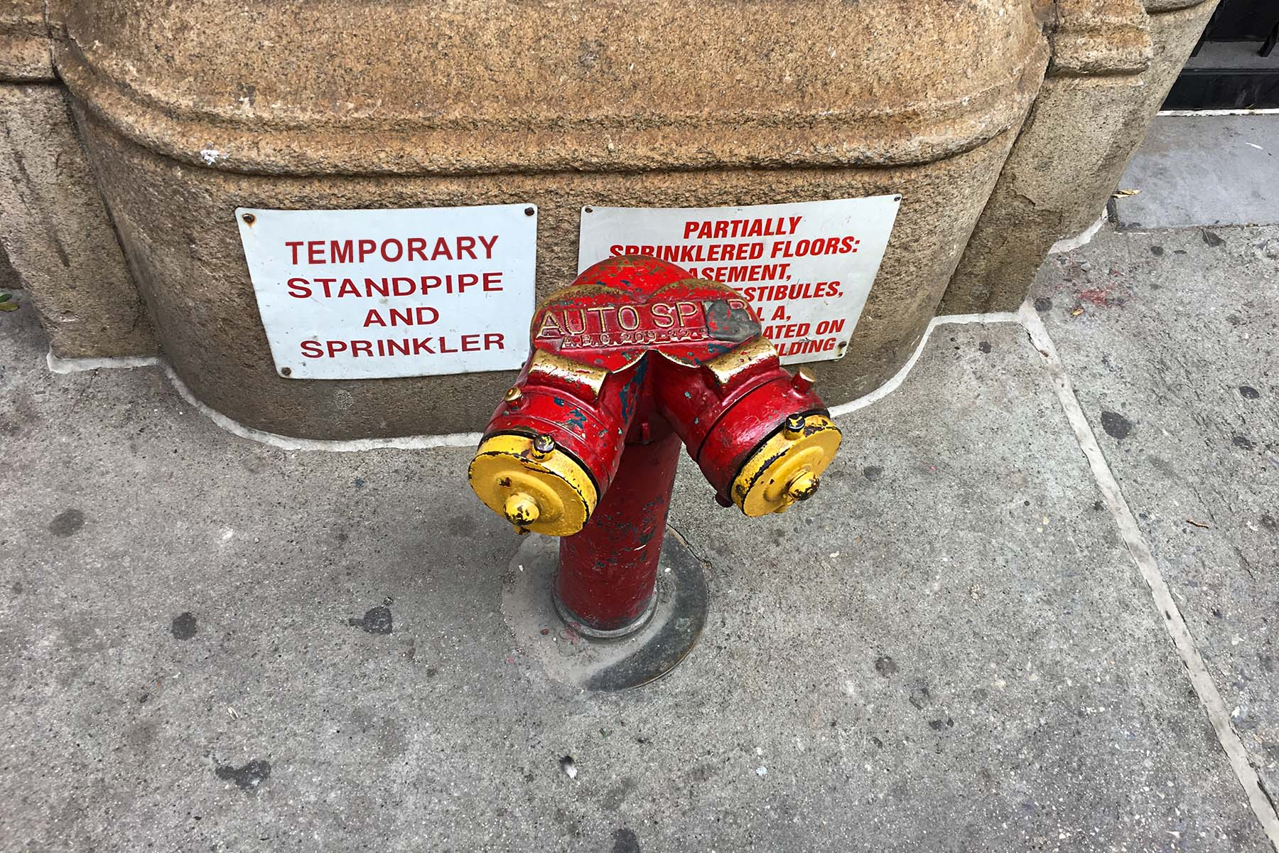 temporary standpipe