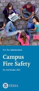 campus fire safety brochure