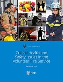 Critical Health and Safety Issues in the Volunteer Fire Service cover