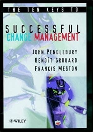Book cover: The Ten Keys to Successful Change Management