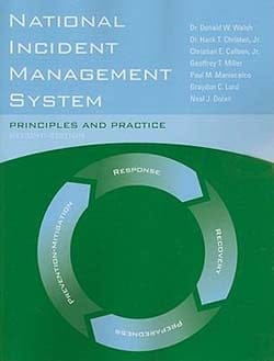 Book cover: National Incident Management System