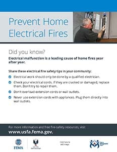 Focus on Fire Safety: Electrical Fire Safety