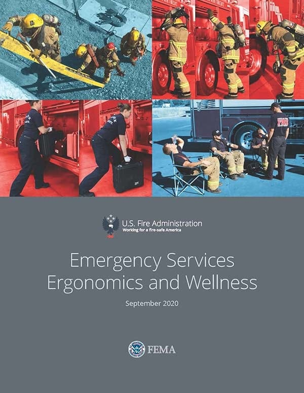 Emergency Services Ergonomics and Wellness cover