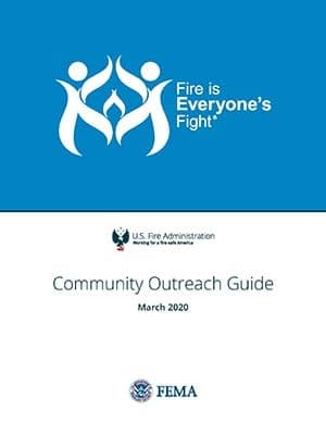 cover of Fire is Everyone's Fight outreach guide