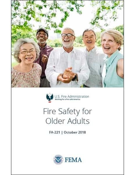 fire safety for older adults brochure