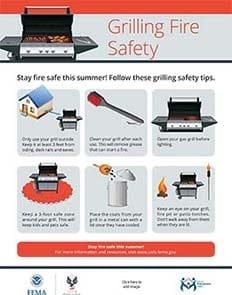 Summer Fire Safety Outreach Materials