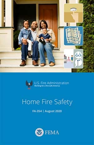 home fire safety brochure cover
