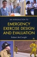 Book cover: An introduction to emergency exercise design and evaluation