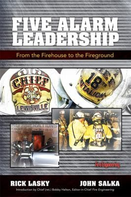 Book cover: Five Alarm Leadership