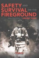 Book cover: Safety and survival on the fireground
