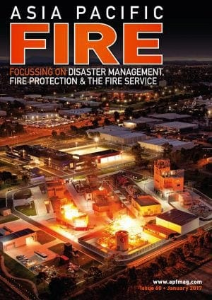 Journal cover: Asia Pacific Fire Magazine