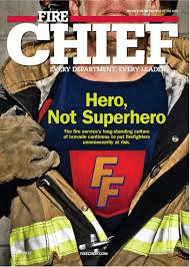 Journal cover: Fire Chief