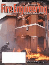 Journal cover: Fire Engineering