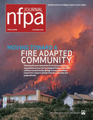 Journal cover: NFPA Journal