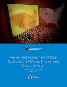 cover of Review and Assessment of Data Quality in the National Fire Incident Reporting System