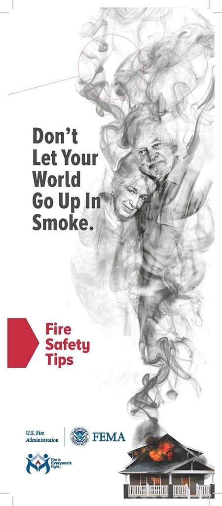 fire safety outreach materials for older adults