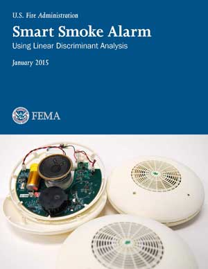 Report cover: Smart Smoke Alarm Using Linear Discriminant Analysis