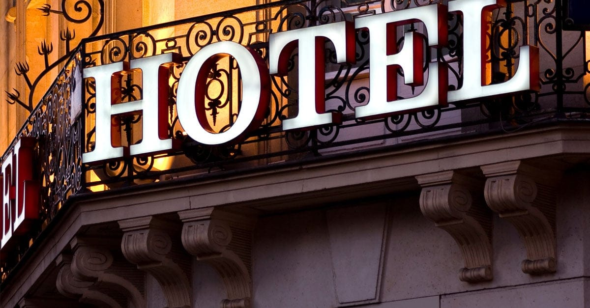 List of approved hotels and motels for federal travelers