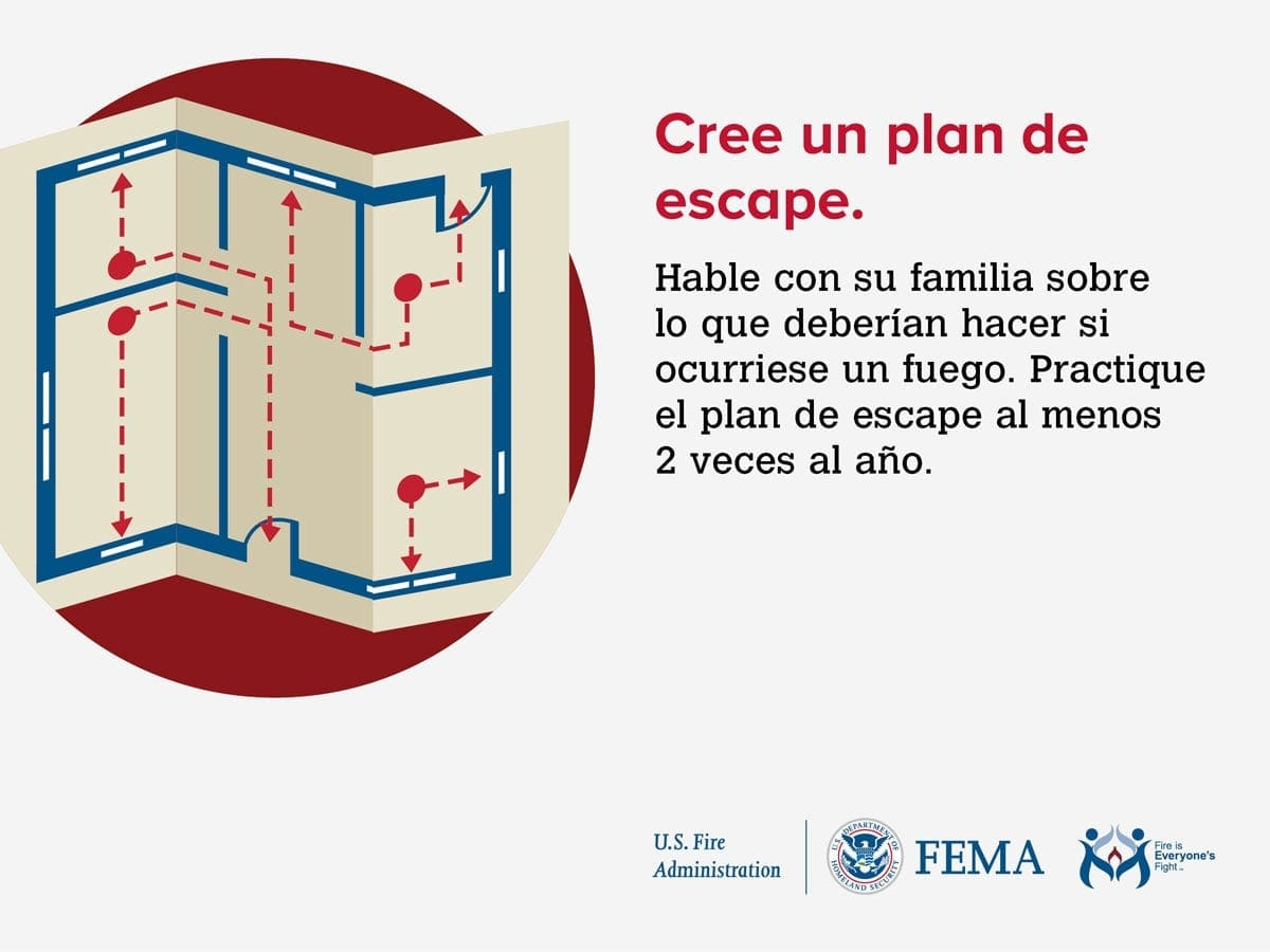 Home Fire Escape Planning Outreach Materials