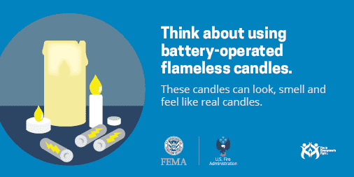use flameless candles