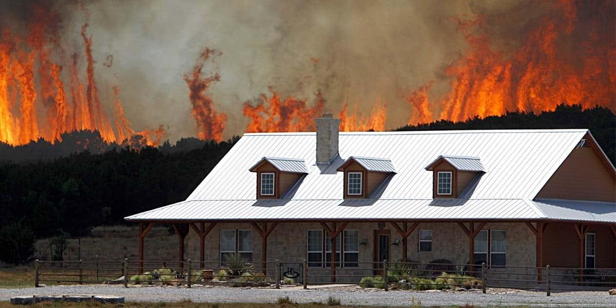 Mitigating wildfire vulnerability